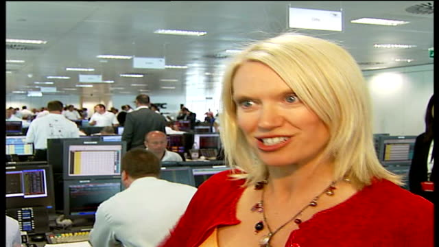 september 11th attacks: five years on; anneka rice interview sot - on how the fundraising event is a fantastic idea - anneka rice stock videos & royalty-free footage