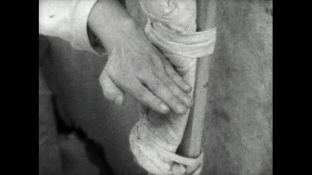 cu seq. of karate student hand and fist hitting pad; 1959 - archival stock videos & royalty-free footage
