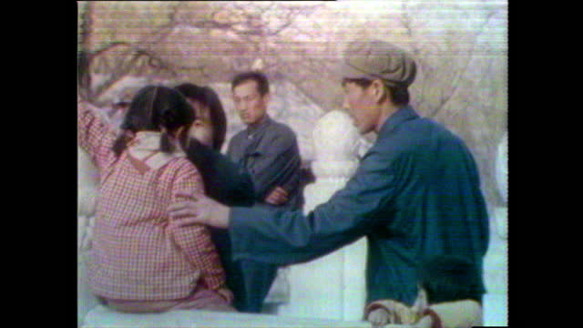 seq. of people enjoying leisure time in beijing park; 1981 - history stock videos & royalty-free footage
