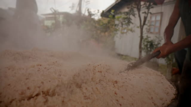 sequence cooking rice, philippines - medium group of people stock videos & royalty-free footage