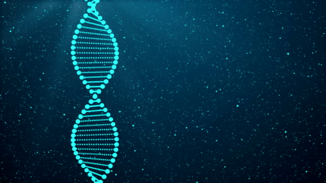 dna sequence, dna code structure with glow - continuity stock videos & royalty-free footage