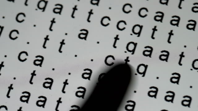 dna sequence in the background - dna test stock videos and b-roll footage