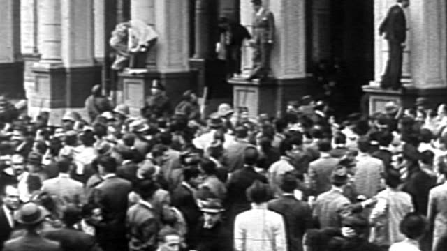 a sequence of events surrounding the military take over ousting president ortiz - coup d'état stock videos & royalty-free footage