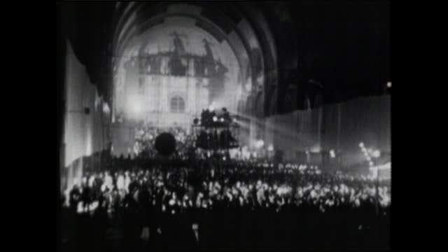 Sequence of GVs of 1972 Alexandra Palace Love-In