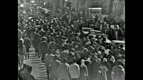 sequence of high angle views showing protest marchers leaving selma on 21st march 1965. has of marchers including nuns wearing habits. / rear view... - social justice concept stock videos & royalty-free footage