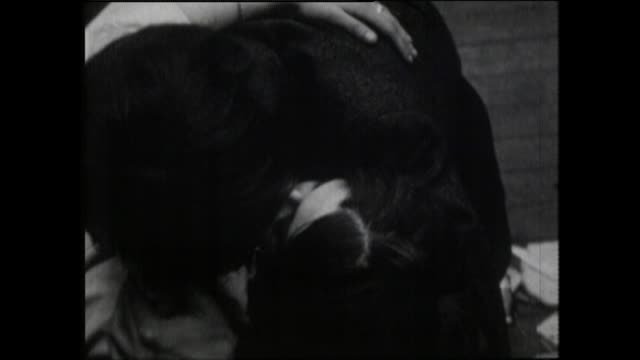sequence of intoxicated people at 1967 alexandra palace love-in - resting stock videos & royalty-free footage