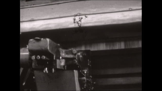 sequence of paper running through a newspaper press; 1969 - the past stock videos & royalty-free footage