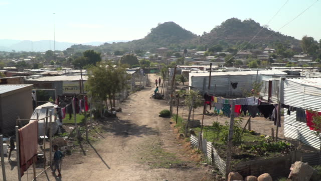 sequence of shots of township in south africa - village stock videos & royalty-free footage