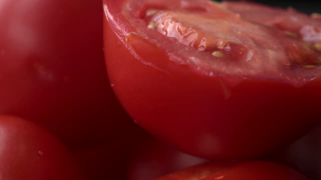 sequence panning across red tomatoes. - tomato stock videos & royalty-free footage