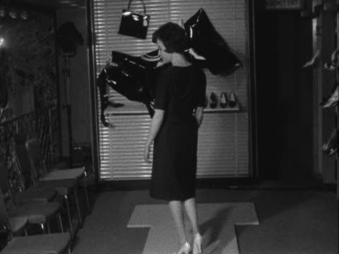 stockvideo's en b-roll-footage met sequence showing a woman modelling a pair of high heeled shoes - dameskleding