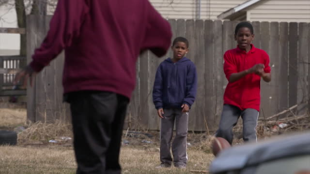sequence showing people in a deprived milwaukee suburb, wisconsin, usa. - ethnicity stock videos & royalty-free footage