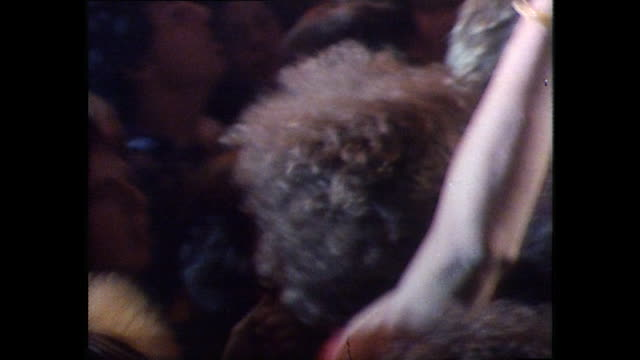 sequence showing punk rockers at a concert. - youth culture stock videos & royalty-free footage