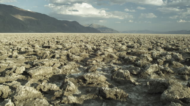 Sequence showing salt pan detail in Death Valley, Eastern California.