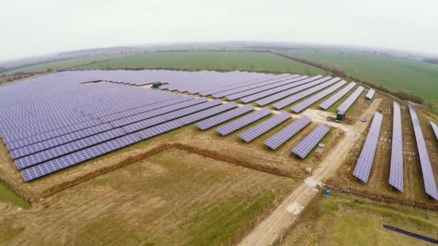 Sequence showing solar panels in the UK NNPX116N ABSA627D