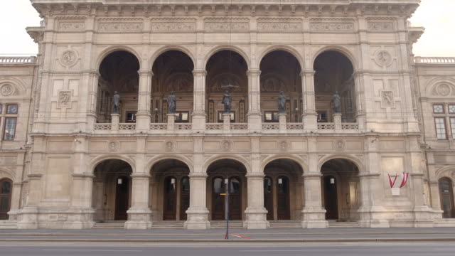 sequence showing the arches of the vienna state opera house, austria. - traditionally austrian stock videos & royalty-free footage