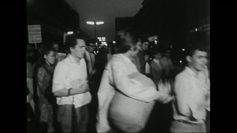 sequence showing young people in london protesting against the russian invasion of czechoslovakia. - czech republic stock videos & royalty-free footage