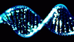 DNA sequencing / editing concept.