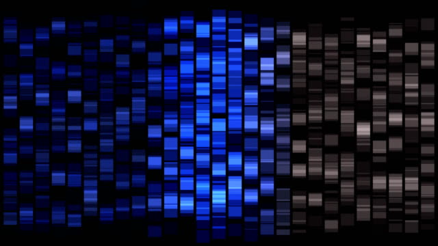 stockvideo's en b-roll-footage met dna sequencing tacg - dna