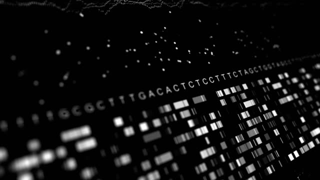 dna sequencing tacg - bit binary stock videos & royalty-free footage