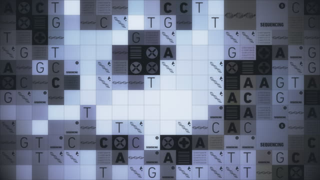 dna sequencing - chromosome stock videos & royalty-free footage