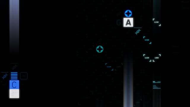 電気泳動 - rna点の映像素材/bロール