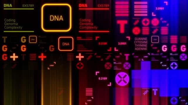 vidéos et rushes de ordonnant d'adn - biology