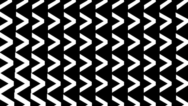 sequential chevrons animation