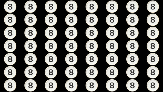 vídeos de stock, filmes e b-roll de chips de contador sequenciais - número 8