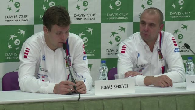 Serbia and defending champions the Czech Republic are tied 11 after the first day of the Davis Cup final as Novak Djokovic and Tomas Berdych sweep...