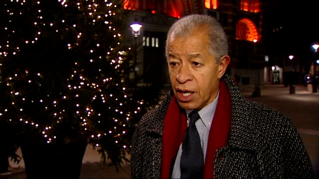 serbian fa fined for racist abuse by fans during under 21 match against england london lord herman ouseley interview sot outrageous decision by fifa... - herman ouseley stock videos & royalty-free footage