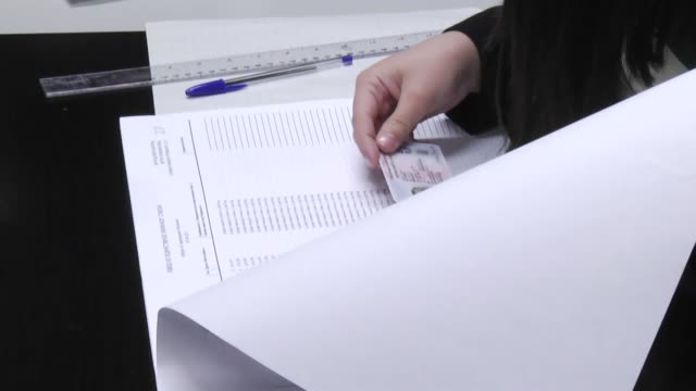 Serbian voters head to the polls to choose the country's next president in Belgrade Serbia on April 02 2016 Nearly seven million voters will decide...