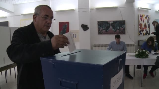 serbs in bosnia headed to the polls on sunday to decide whether to mark their national holiday in a referendum that has placed the countrys fragile... - banja luka stock videos & royalty-free footage