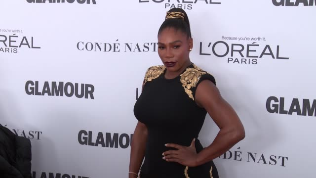 Serena Williams at Glamour's 2017 Women Of The Year on November 13 2017 in New York City