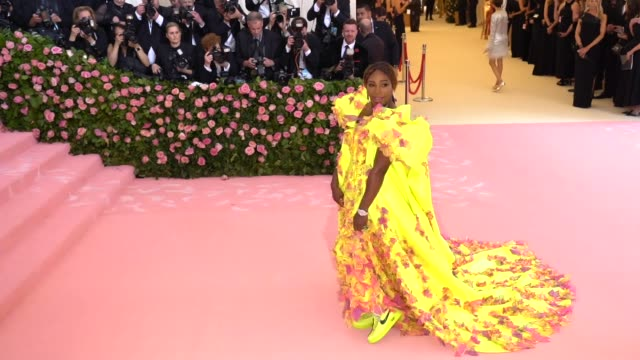 Serena Williams at The 2019 Met Gala Celebrating Camp Notes on Fashion Arrivals at Metropolitan Museum of Art on May 06 2019 in New York City