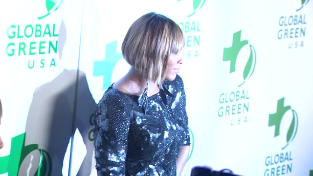serena williams at the global green usa's 7th annual pre-oscar party at hollywood ca. - oscar party stock videos & royalty-free footage