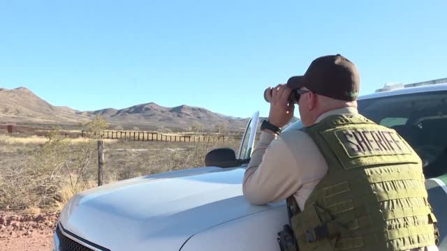 Sergeant Louie Tartaglia is a police officer in Arizona's Cochise County a US district that shares 85 miles of border with Mexico