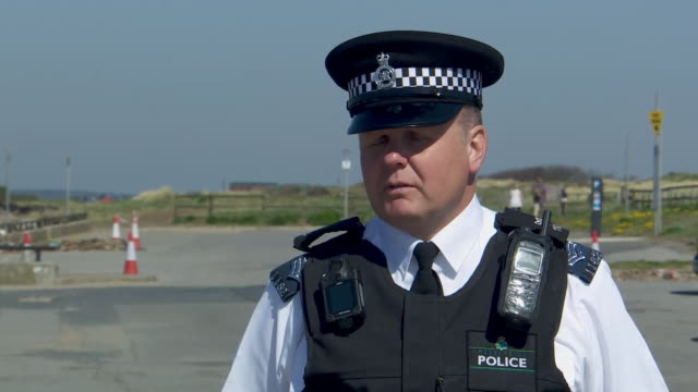 sergeant richard clark of merseyside police saying it tends to be young people between 17-20 who flaunt coronavirus lockdown rules - sergeant stock videos & royalty-free footage