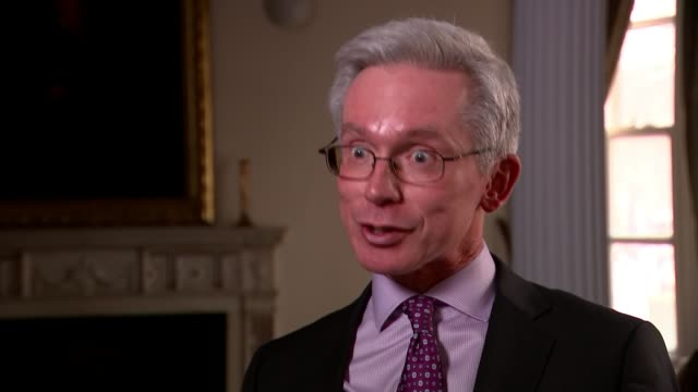 britain to expel 23 russian diplomats england int professor malcolm chalmers interview sot - sergei skripal stock videos and b-roll footage