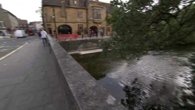 british government names two russian nationals accused of attack england wiltshire salisbury ext general view river avon with bridge and the king's... - inn river stock videos and b-roll footage