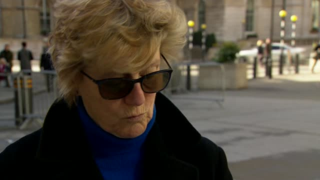 dame sally davies statement england london bbc broadcasting house ext dame sally davies interview and statement to camera sot cutaways of interview - bbc stock videos & royalty-free footage