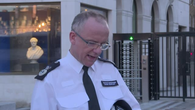 mark rowley and sally davies presser england london new scotland yard ext mark rowley press statement sot re salisbury attack / nerve agent was used... - sergei skripal stock videos and b-roll footage