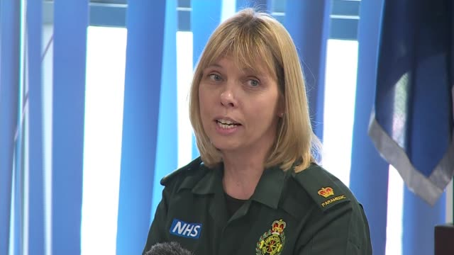 multiagency press conference Jane Whichello press conference SOT Angus McPherson press conference SOT