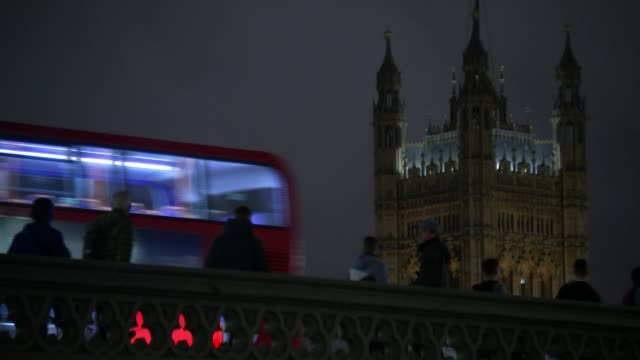 russian dissidents in london remain closely watched r211117006 / london westminster wide shot lambeth bridge victoria tower with westminster bridge... - westminster bridge stock videos and b-roll footage