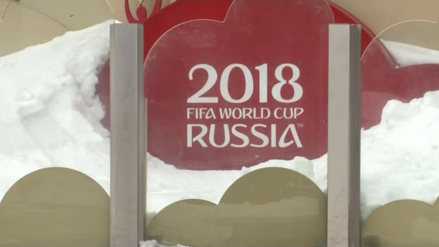 southgate rejects world cup boycott calls t070318003 / 732018 russia moscow world cup russia logo - fifa world cup stock videos & royalty-free footage