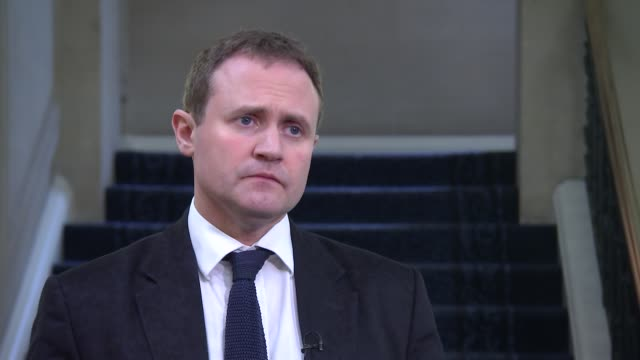 Tom Tugendhat interview ENGLAND London Westminster INT Tom Tugendhat MP interview SOT re likelihood of Russian involvement