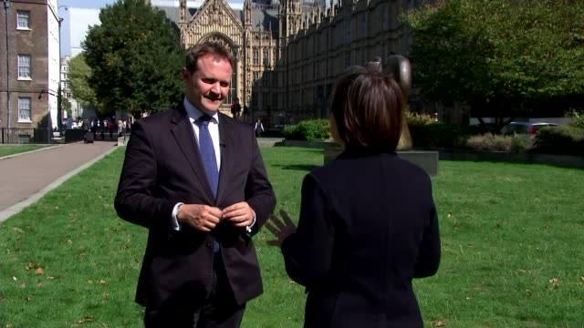 World leaders back UK's allegations against Russia ENGLAND London EXT Tom Tugendhat MP interview SOT