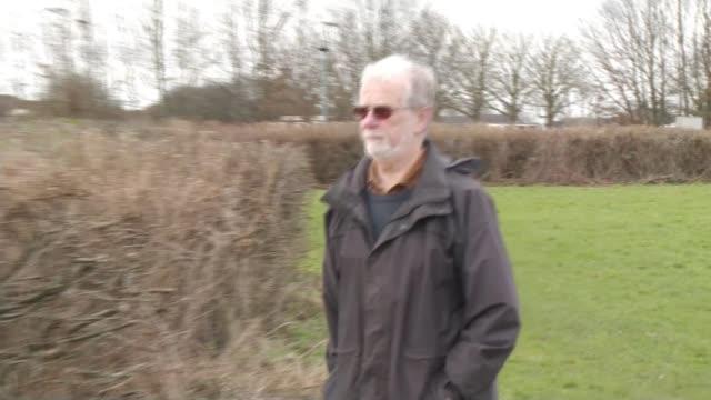 Serial killer 'confesses' to 1990 murder of British student Joanna Parrish ENGLAND EXT Roger Parrish setup shot along / interview SOT