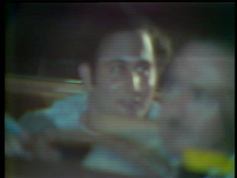 of serial killer david berkowitz seen entering a police car in new york city in 1977; later shown inside the police car with a slight grin. david... - msnbc stock videos & royalty-free footage