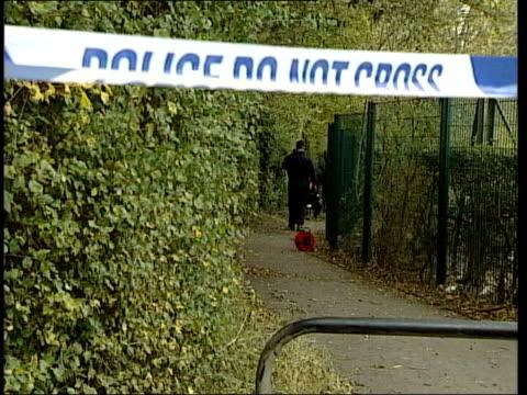 police release photofit lib hertfordshire stevenage police searching rape scene - stevenage stock videos and b-roll footage