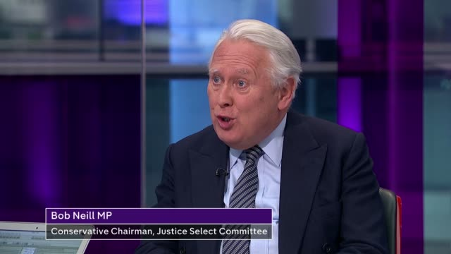 Government not to appeal release decision ENGLAND London GIR INT Bob Neill MP LIVE studio interview continues SOT
